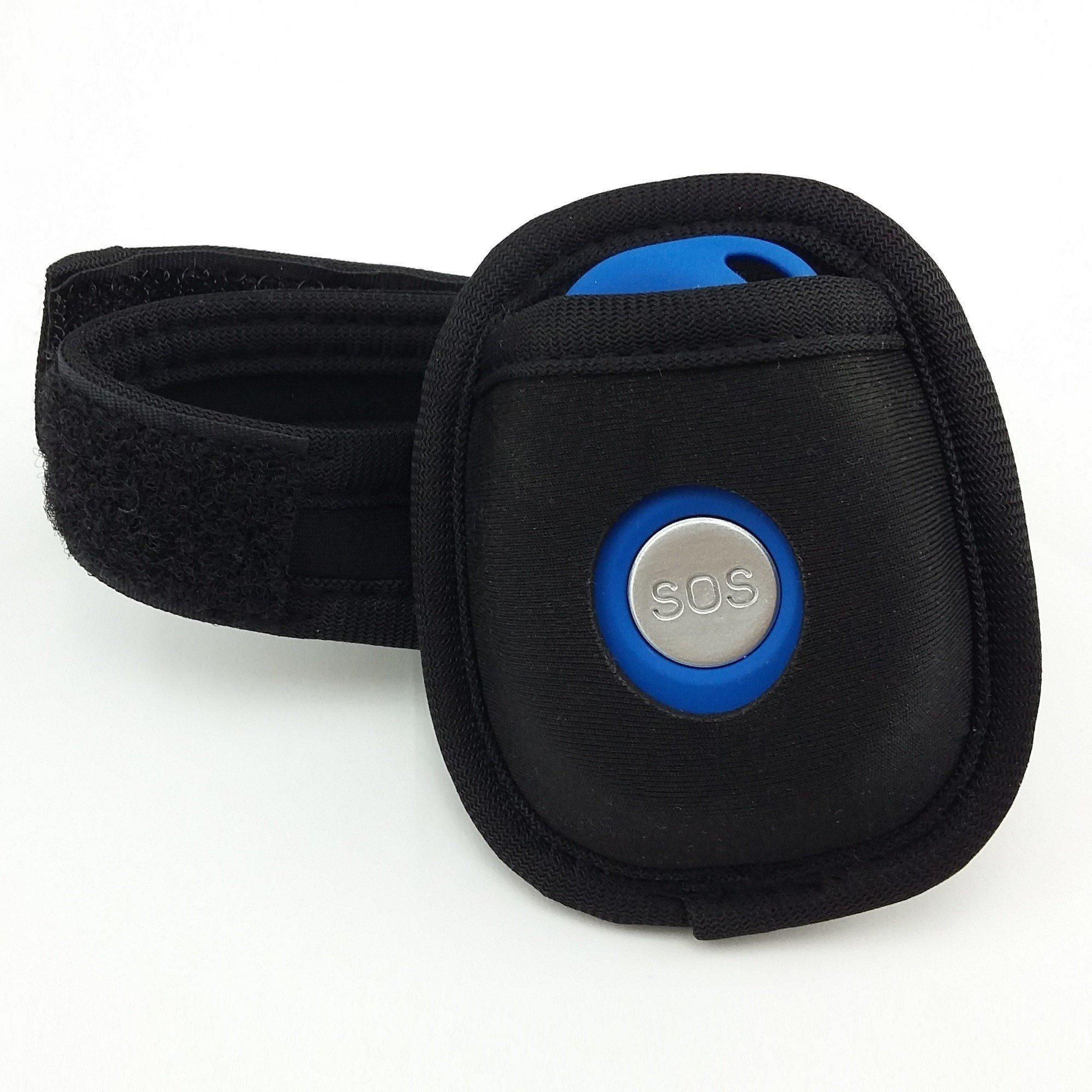Gürteltasche mit Klettarmband für Sturzmelder